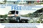 Truck Tata Other LPT 1518 , 8 Ton , Sleeper Cab , Dropside New 2017