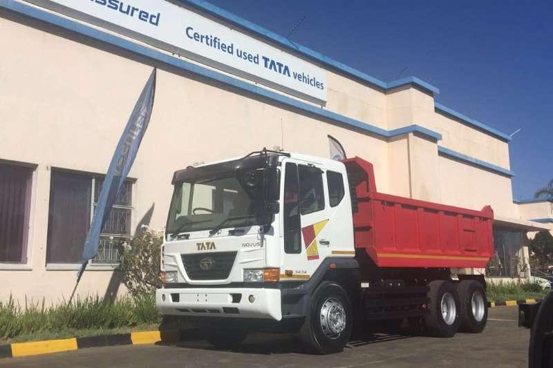 Truck Tata Tipper TATA NOVUS 3434 10CU 2012