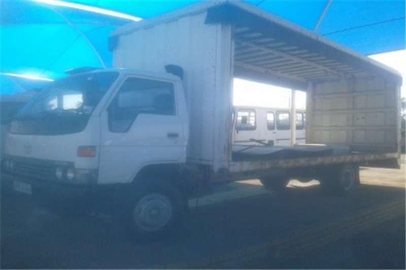 Truck Toyota Compactor Volume Body 2000 Toyta Dyna 2000