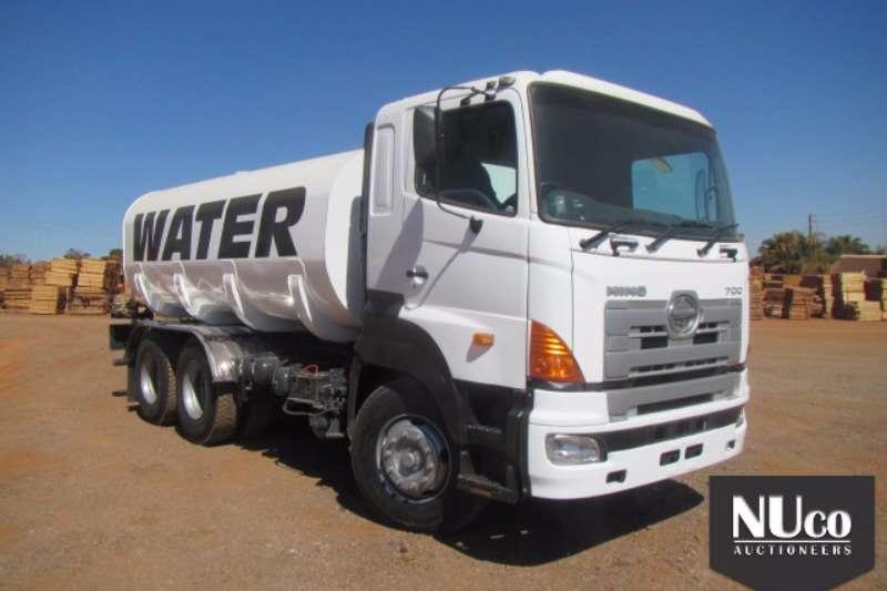 Toyota Water tanker TOYOTA HINO 700 18000L WATER TANKER #AHHSS1EKP0001 Truck