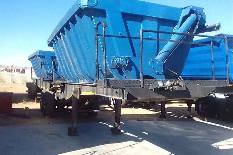 34 TON SIDE TIPPER TRAILER FOR SALE Truck-Tractor