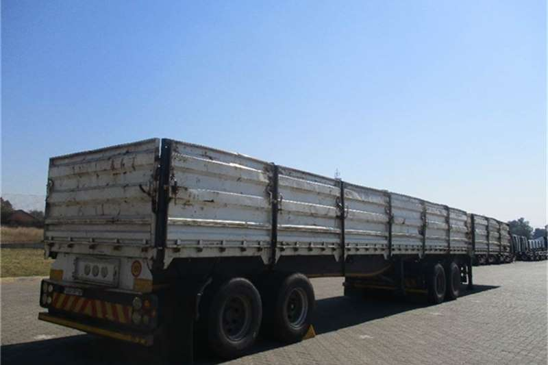 Afrit Dropside Interlink Semi Trailer Afrit Truck-Tractor