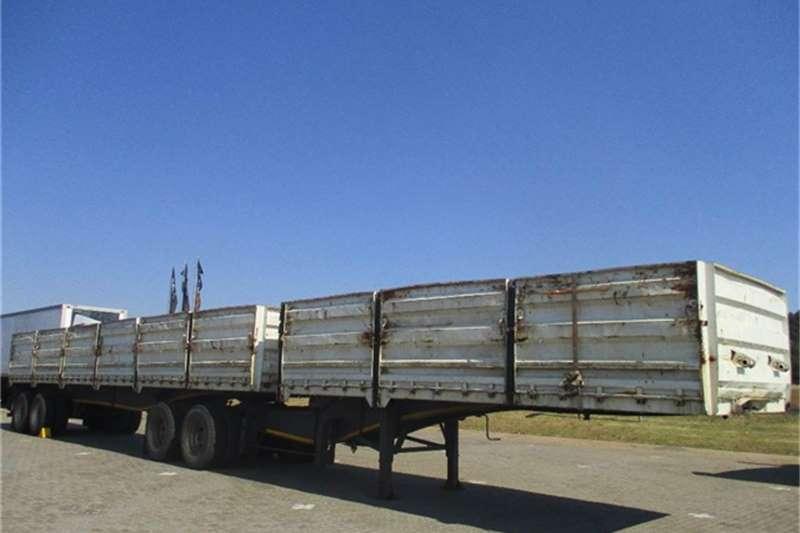 Afrit Dropside Interlink Semi Trailer Afrit Truck-Tractor