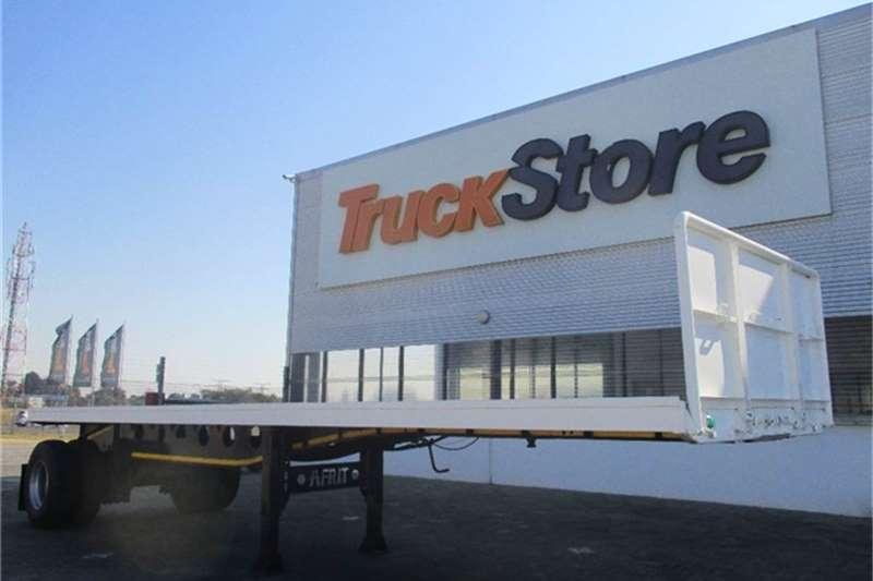 Truck-Tractor Afrit Single Axle Flatdeck Semi Trailer Afrit 2012