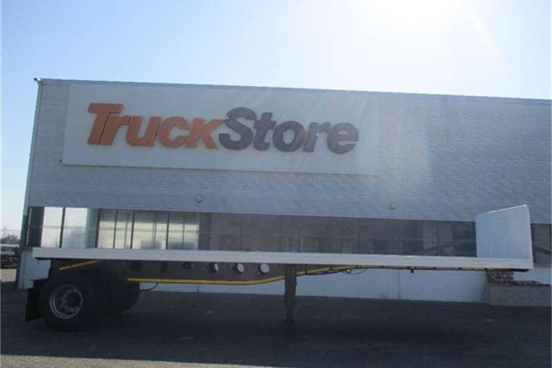 Afrit Single Axle Flatdeck Semi Trailer Afrit Truck-Tractor