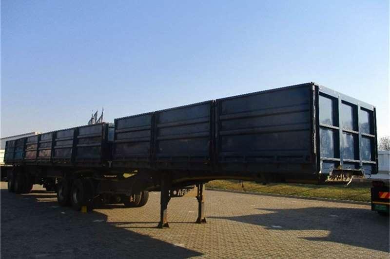 Afrit Tubmaster Dropside Side Tipper Interlink Afrit Truck-Tractor