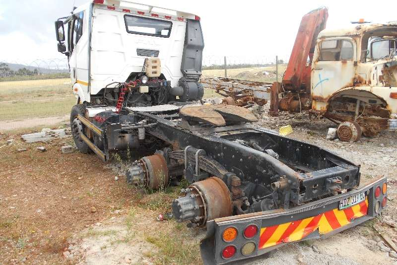 FAW  double axle FAW 28.460FT Common Rail Braking for parts Truck-Tractor