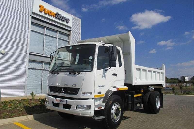 Truck-Tractor Fuso FM15 270 6m3 Tipper Fuso 2016