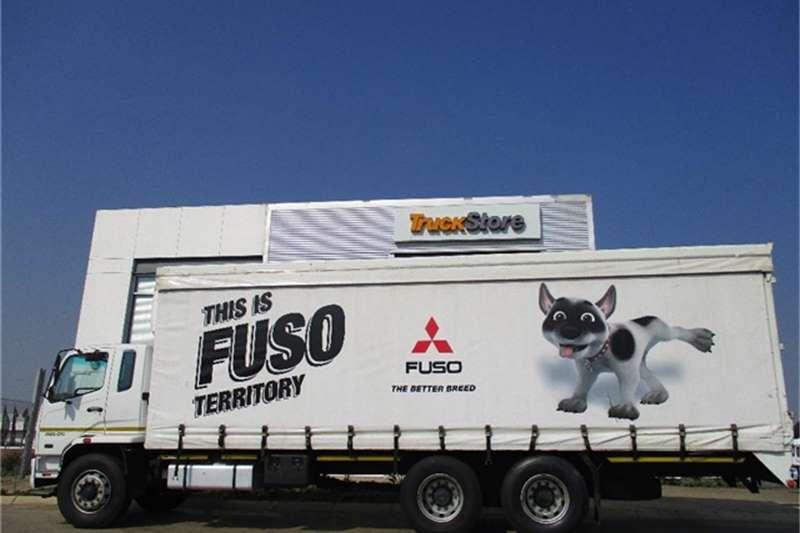 Fuso FN25 270 Tautliner Body Fuso Truck-Tractor