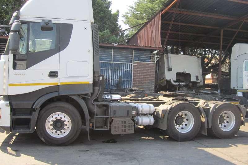 Iveco  double axle 480 Stralis Truck-Tractor