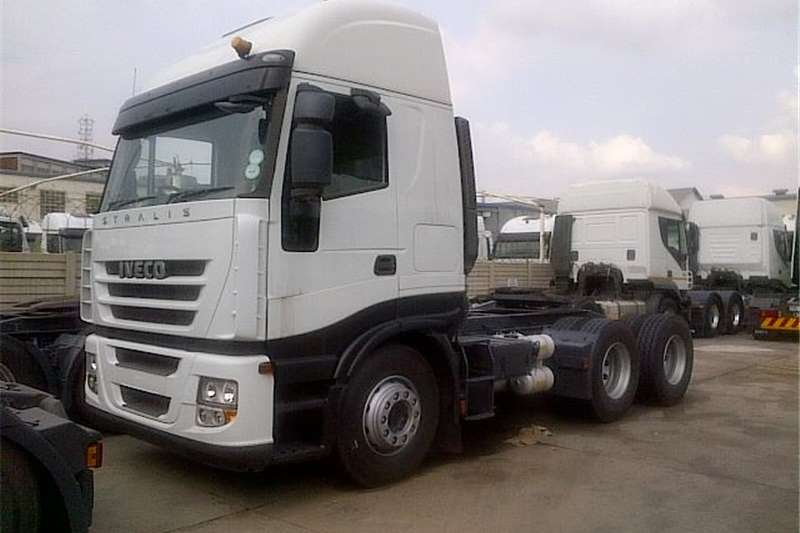 Truck-Tractor Iveco  Double Axle  AS750S48TZP  2012
