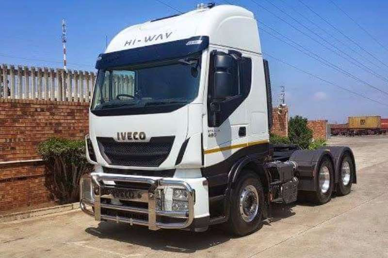 Iveco  double axle Stralis 480hp Truck-Tractor