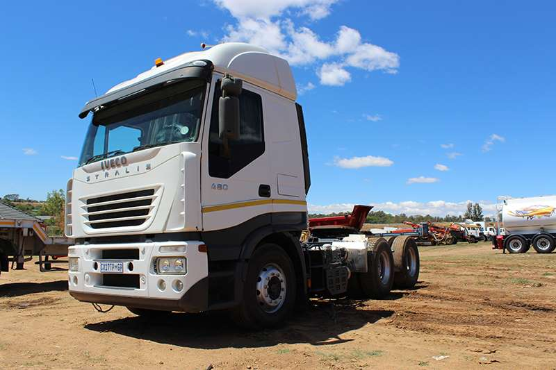 Iveco IVECO STRALIS 480 DOUBLE AXLE TRUCK TRACTOR Truck-Tractor