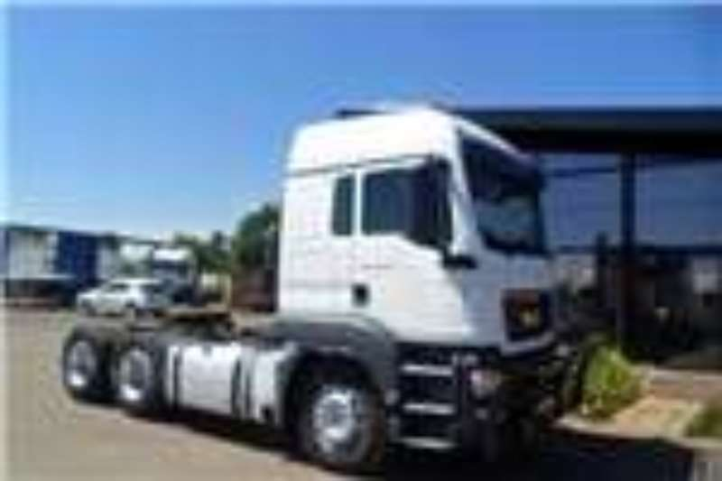 MAN  double axle 2014 and 2013MAN TGS 26 440 TRUCK TRACTOR CC Truck-Tractor