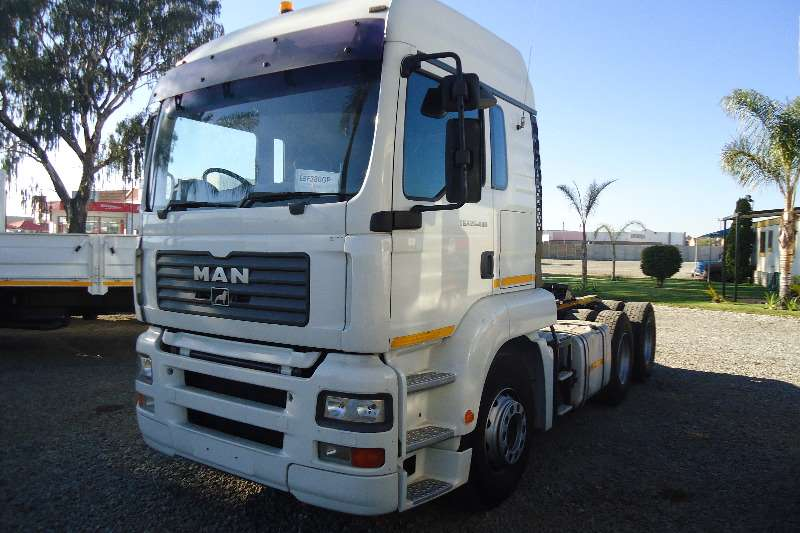 Truck-Tractor MAN  Double Axle 26.480 TGA 2008