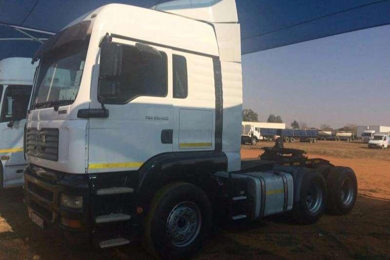 MAN  double axle TGA 27-400 Truck-Tractor