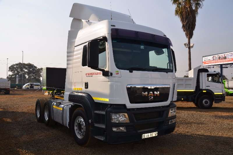 MAN  double axle TGS 26.480 Truck-Tractor