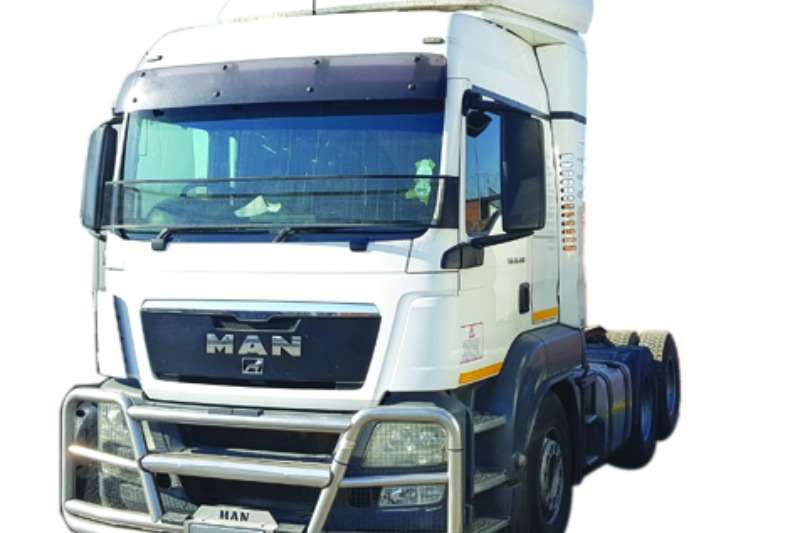 MAN  double axle TGS 26-480 Truck-Tractor