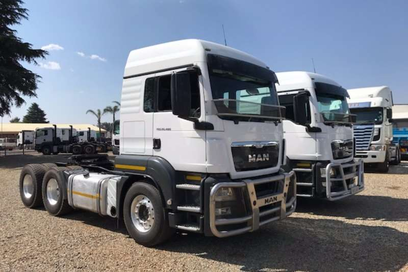 Truck-Tractor MAN  Double Axle TGS 26.480 6x4 T/T 2013
