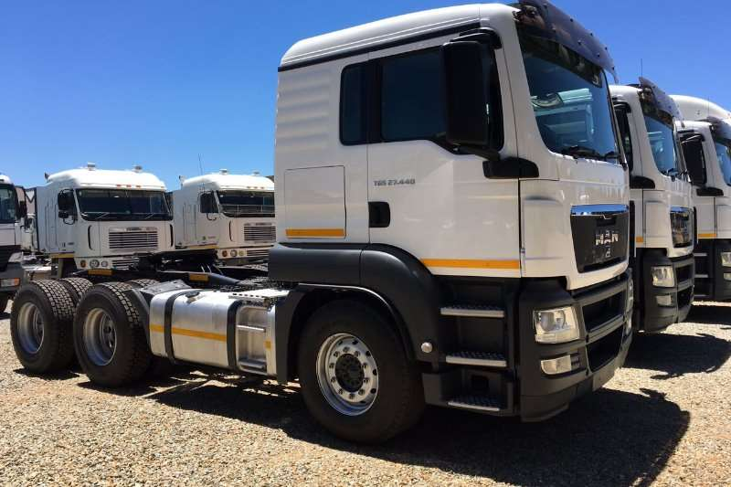 MAN  double axle TGS 27.440 6x4 T/T Truck-Tractor