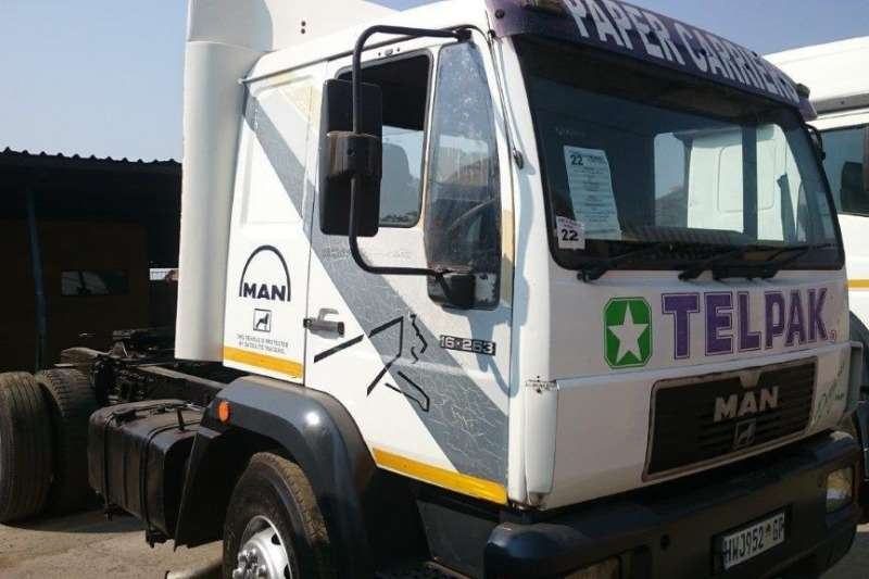 MAN MAN 16.263 Single Diff horse Truck-Tractor