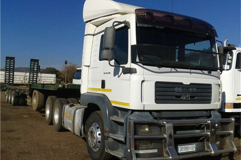 Truck-Tractor MAN Single Axle Horse TGA26-410 2006