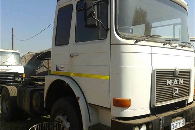 Truck-Tractor MAN Single diff 1988