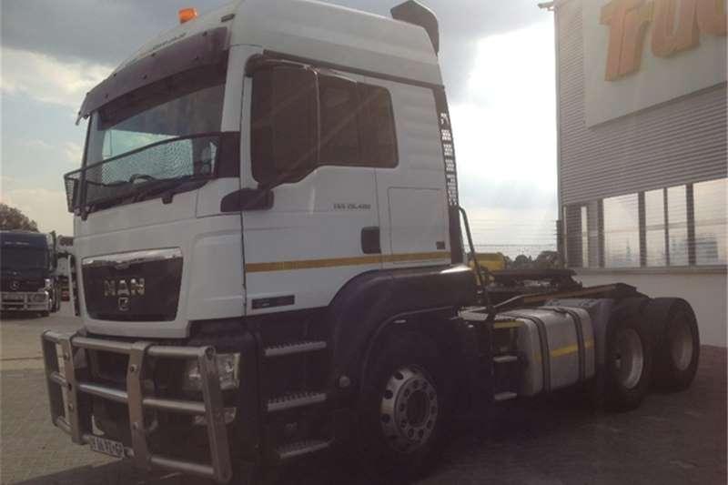 MAN TGS 26 480 MAN Truck-Tractor