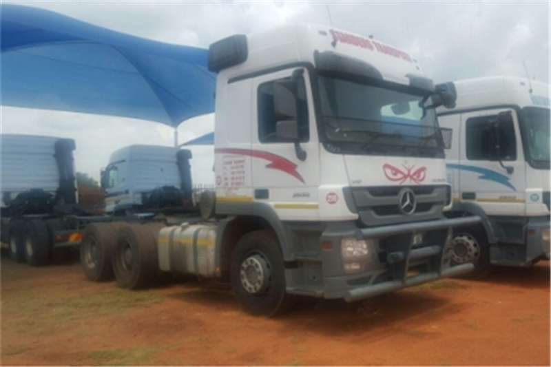 Mercedes Benz Actros  double axle 2650 MP3 Truck-Tractor