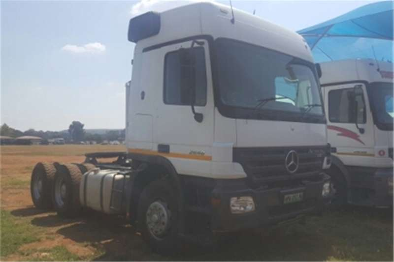 Mercedes Benz Actros  double axle Actros 2648 MP2 Truck-Tractor