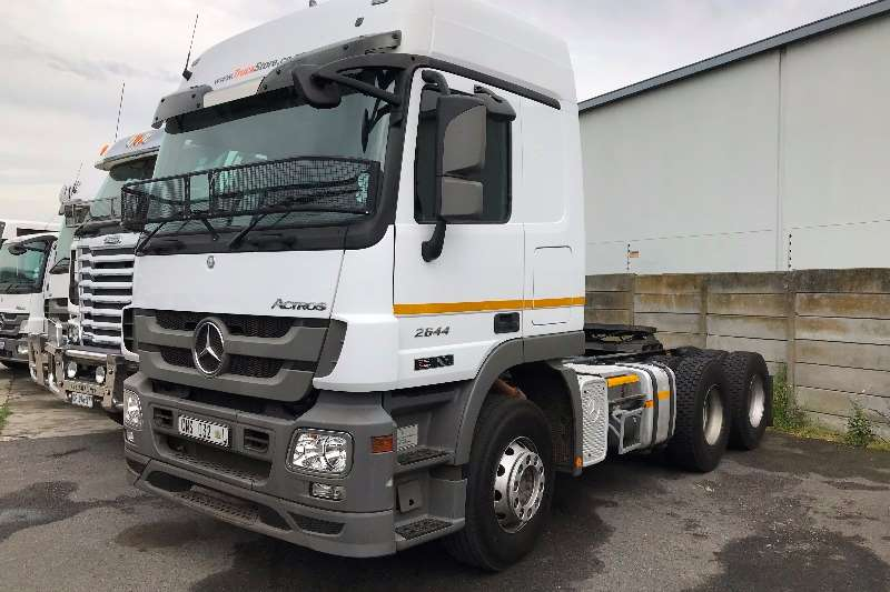2013 Mercedes Benz Actros 2644LS/33 HYP Double Axle Truck Tractor Trucks  For Sale In Western Cape | R 680 000 On Truck U0026 Trailer