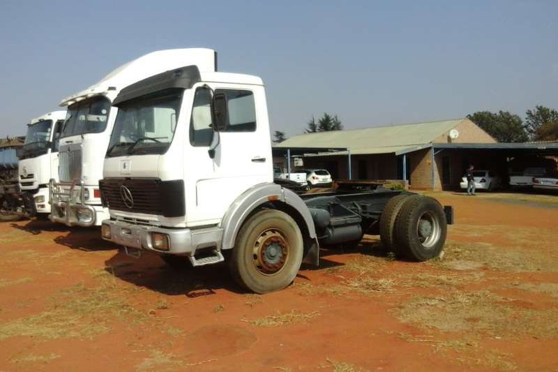 Mercedes Benz Used Mercedes Benz 1729 Powerliner Available Truck-Tractor