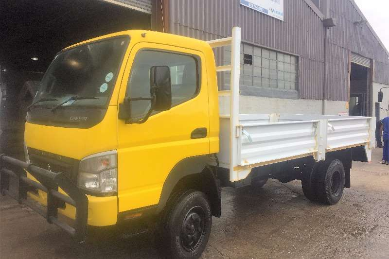 Mitsubishi  double axle FG6-109DT 4x4 Truck-Tractor