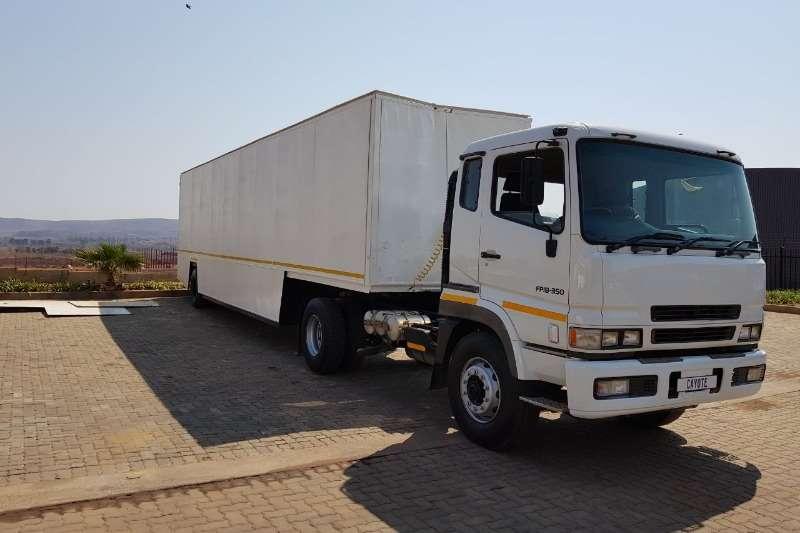 Mitsubishi Single axle FP18-350 Truck-Tractor