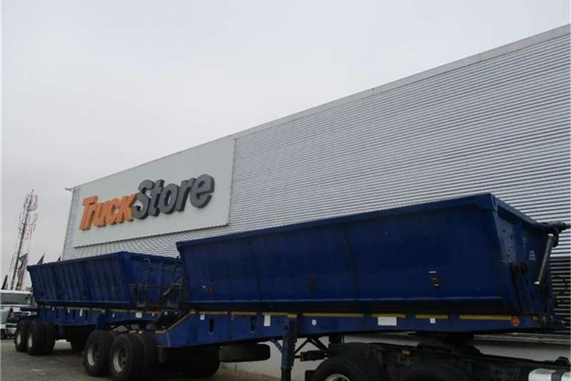 Truck-Tractor Other Side Tipper Interlink Semi Trailer Other 2013
