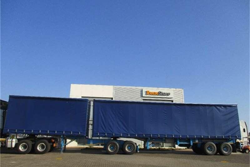 Truck-Tractor Other Tautliner Interlink Semi Trailer Other 2014