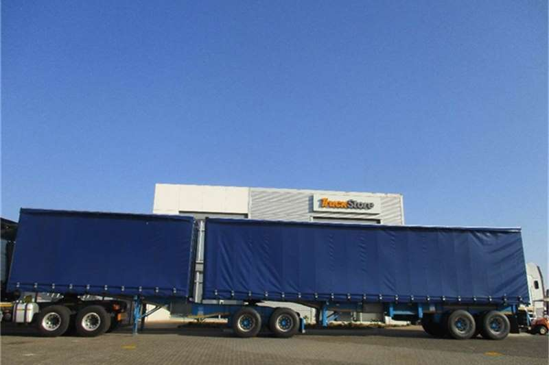 Truck-Tractor Other Tautliner Interlink Semi Trailer Other 2014