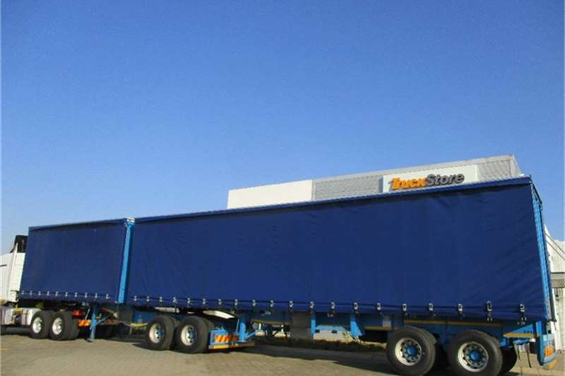 Other Tautliner Interlink Semi Trailer Other Truck-Tractor