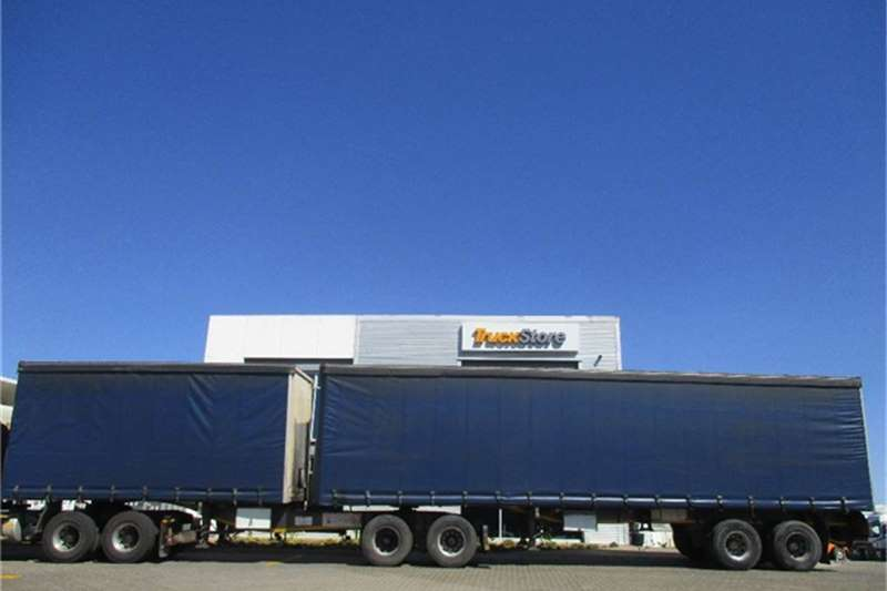 SA Truck Bodies Tautliner Interlink Semi Trailer Sa Truck Bodies Truck-Tractor