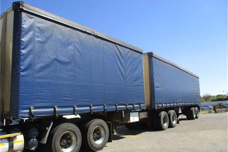 SA Truck Bodies Tautliner Interlink Semi Trailer Sa Truck Bodies Truck-Tractor