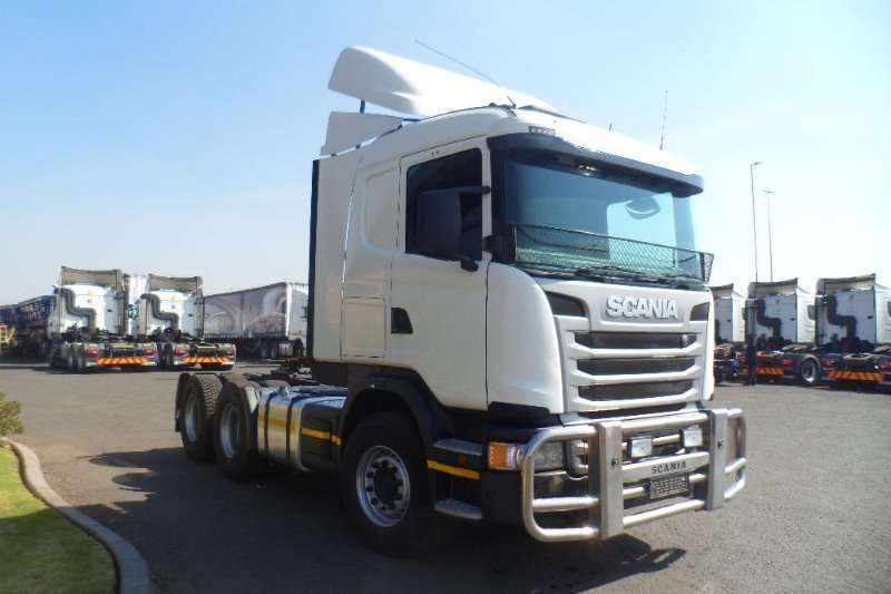 Scania 2016/2015 SCANIA G and R460 T T SERVICE RECORD Truck-Tractor