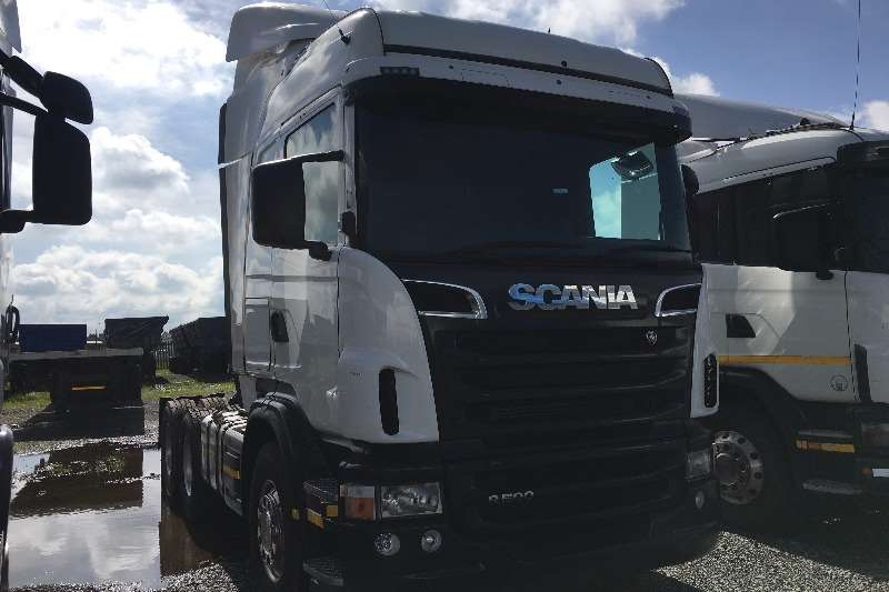 Truck-Tractor Scania  Double Axle 2011 Scania R500 2011
