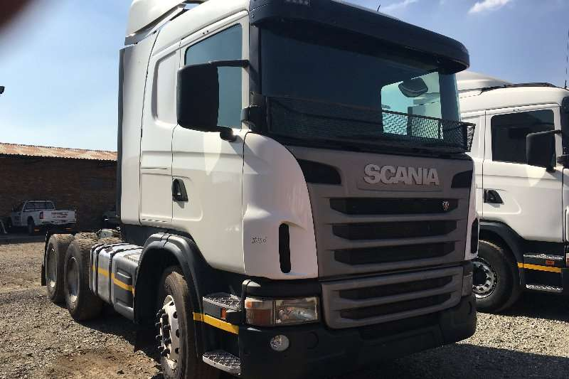 Truck-Tractor Scania  Double Axle 2013 Scania 460 2013