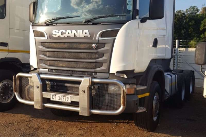 Scania  double axle 2014 SCANIA R580 HYDRAULICS Truck-Tractor