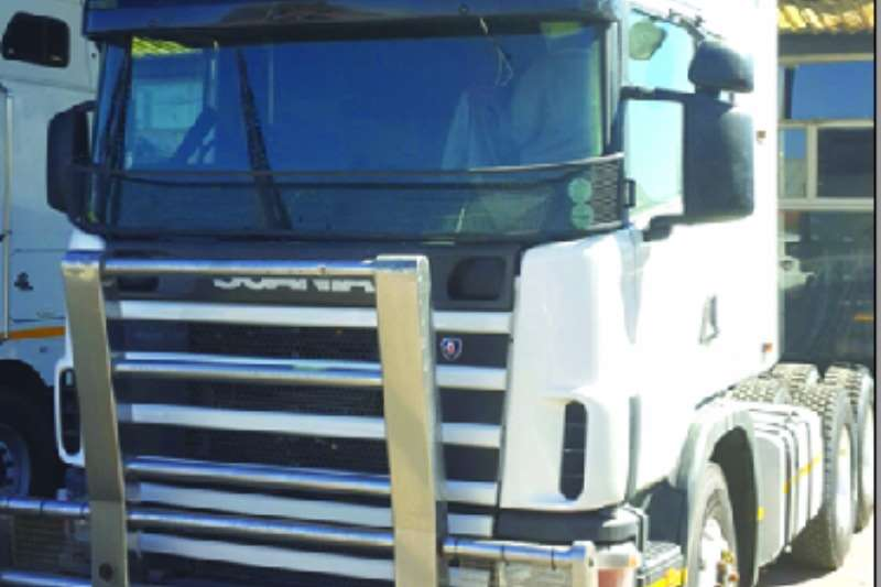 Scania  double axle 580 As is Truck-Tractor