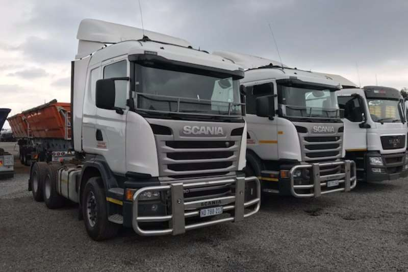 Truck-Tractor Scania  Double Axle G460 6x4 T/T available 2015