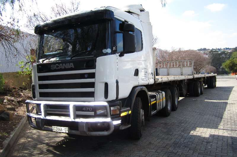 Scania  double axle R124 : 470 Truck-Tractor