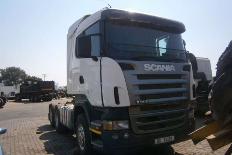 Truck-Tractor Scania  Double Axle R500 2008