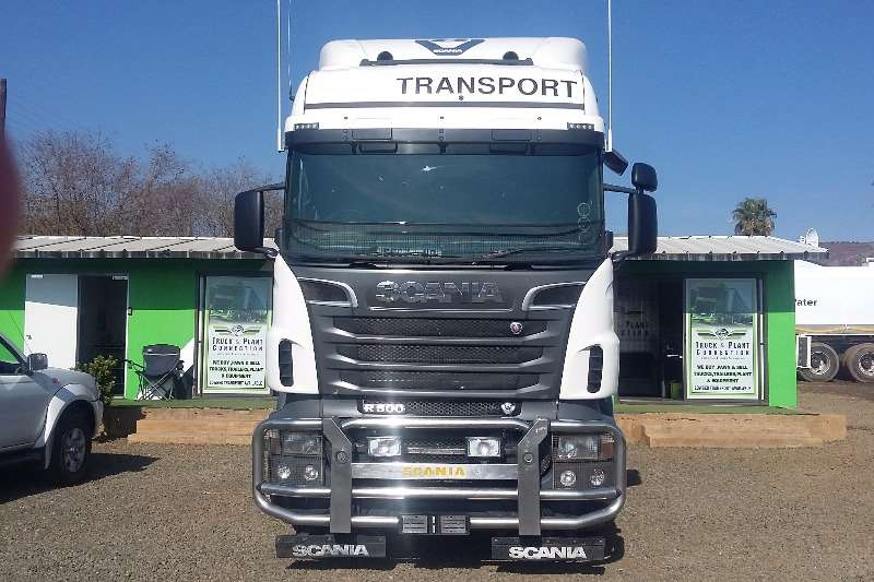 Scania  double axle R500 Truck-Tractor