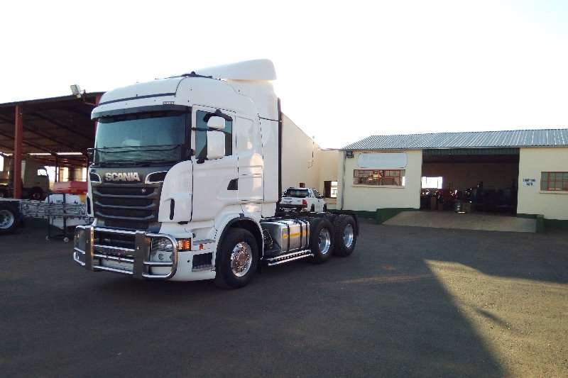 Scania  double axle R500 Scania Truck-Tractor